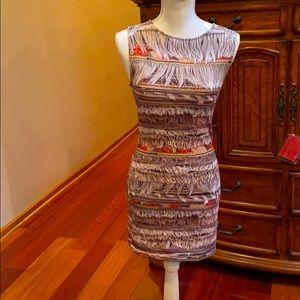 Mara Hoffman fringe print dress XS/S